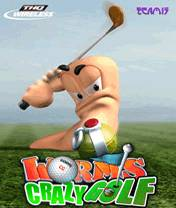 Worms Crazy Golf (128x160)