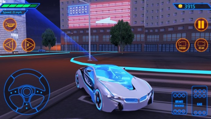 concept car driving simulator free samsung galaxy y game download