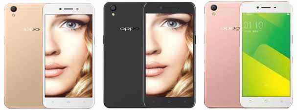 Oppo A37f Colours