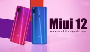 Redmi Note 7/7s & Redmi Note 7 Pro Miui 12 Update