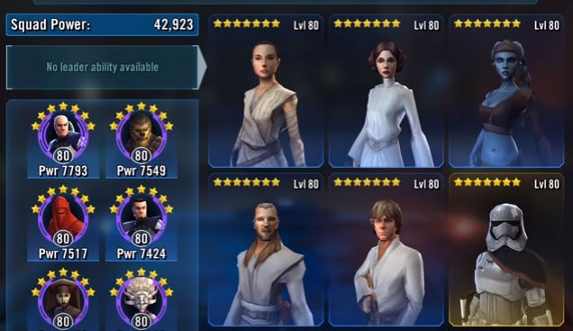Aayla Secura Review – Star Wars: Galaxy of Heroes |