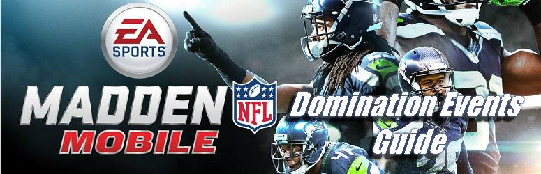 Domination Events Guide - Madden NFL Mobile