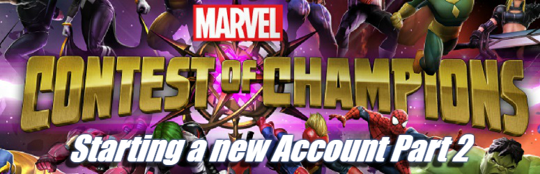 Starting a new Account - Marvel Contest of Champions
