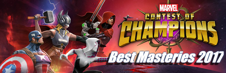 Best Mastery 2017 - Marvel Contest of Champions