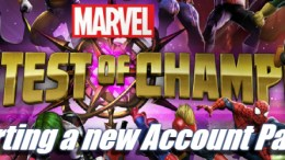 Starting a new Account – Marvel Contest of Champions – Part 3