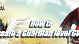 How to create a Guardian level GWO - Summoners War