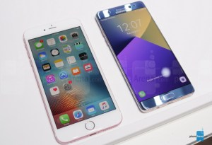 Galaxy Note7 vs iPhone 6s Plus