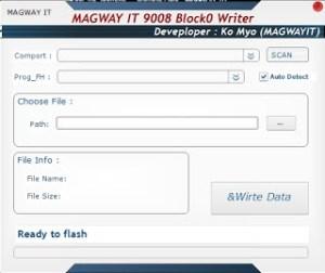 Magway IT 9008 Block0 Writer