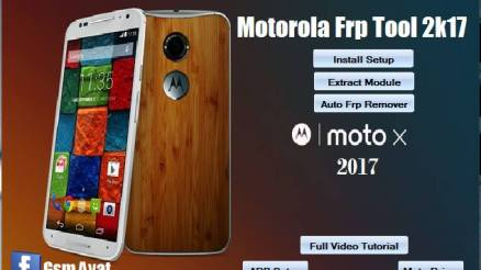 Motorola Frp Remove AIO (all in one) pack By GSM AYAT