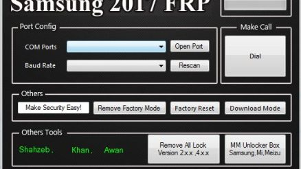 Samsung 2017 FRP Remover