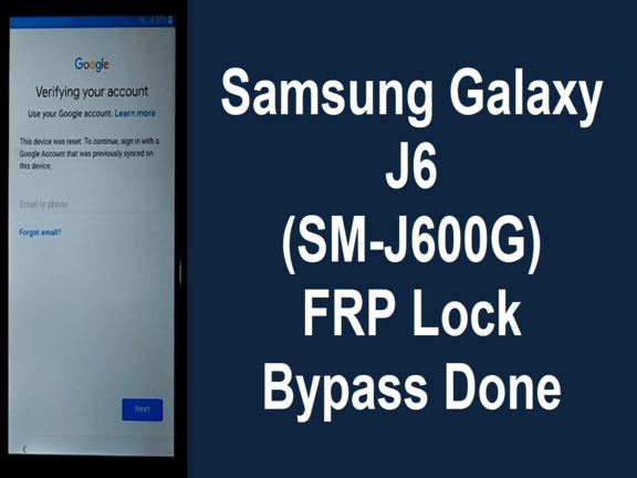 Samsung J6 2018 FRP Bypass Sep Patch | Mobile Solution Point
