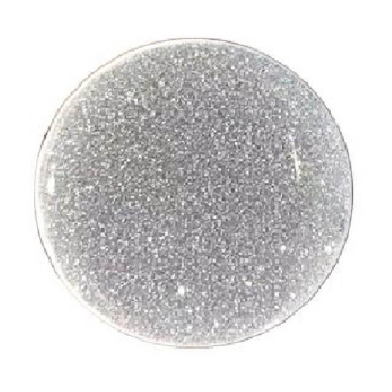 Glitter Silver Pop Socket
