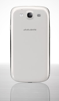 GALAXY S3 Marble White Back