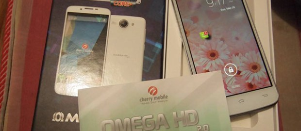 Cherry Mobile Omega HD 2.0 Box and Unit