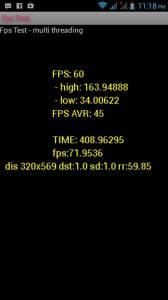 Cherry Mobile Omega HD 2.0 FPS Test