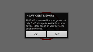 MyPhone A919i Duo Screenshots: Need for Speed Most Wanted Failed Download