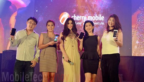Cherry Mobile Brand Ambassador Anne Curtis and Head Execs