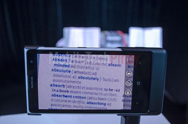Nokia Lumia 1020 Book Shot Max Zoom After Shot