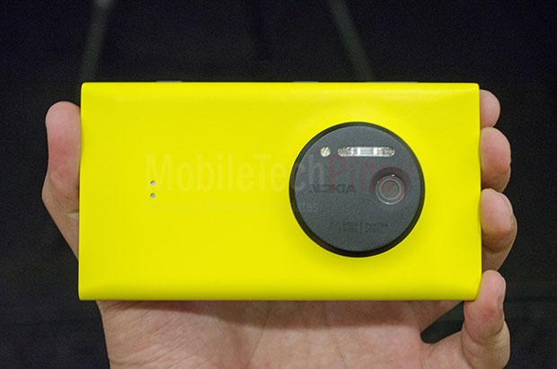 Nokia Lumia 1020 Camera Orientation