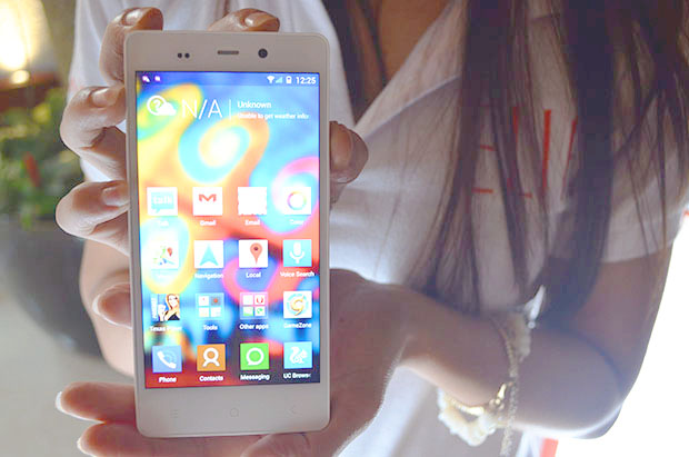 Gionee Elife E6 Being Modeled