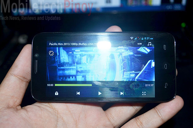 Full HD Playback with MX Player
