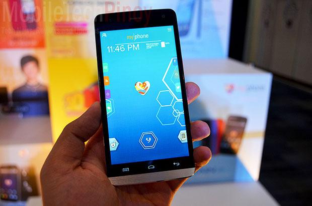 MyPhone Ocean Elite Start Lockscreen