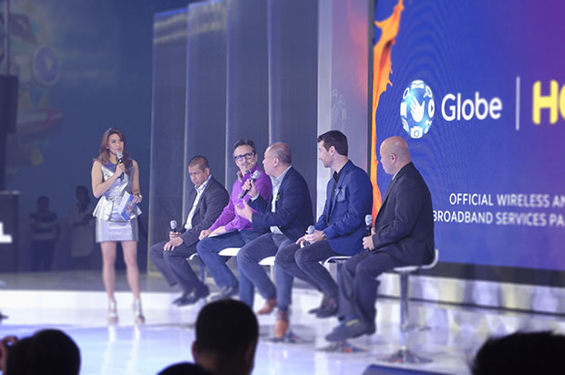 Globe, HOOQ, Sony Pictures and Warner Brothers Execs