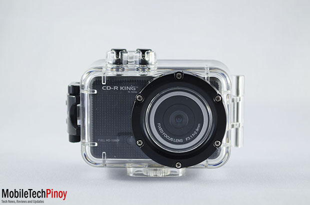 Front With Waterproof Case