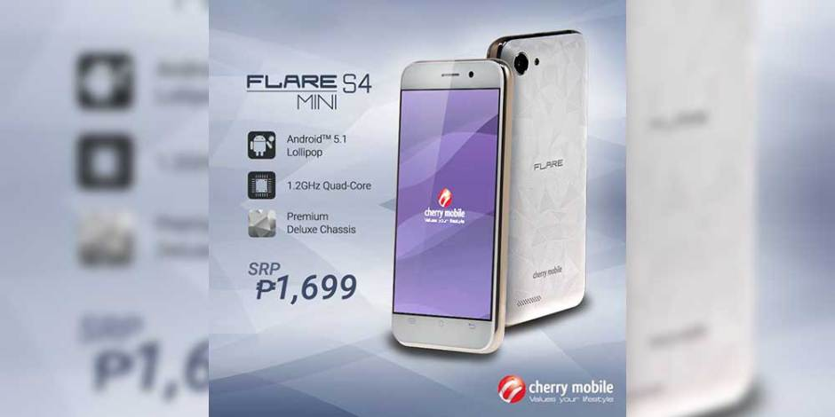 new styles f273c 21d21 Cherry Mobile Flare S4 Mini Now Official, Premium Chassis Without ...