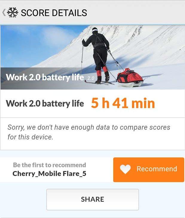 PCMark Work 2.0 Battery Life Test