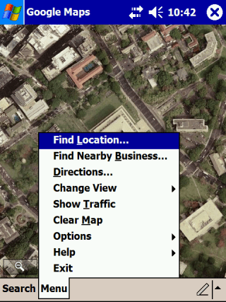 Google Maps for Windows Mobile
