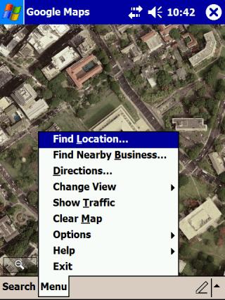 Google Maps for Windows Mobile