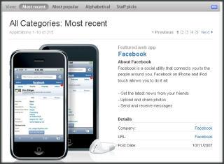 Apple.com WebApps