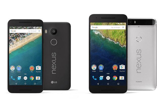 Google unveils two Nexus handsets