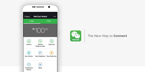 WeChat launches wallet in South Africa
