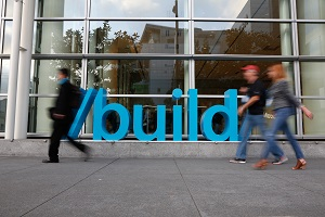 Microsoft Build 2016, San Francisco.