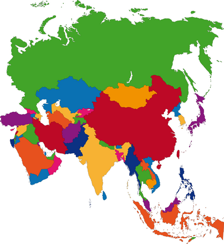 Regional Map Of Asia.Blog Mixed Ambitions For Asia S Top Regional Operators Mobile