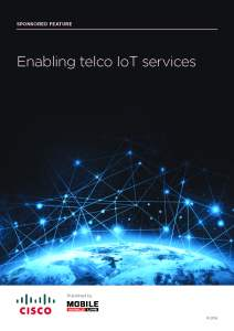 Cisco - Enabling telco IoT services