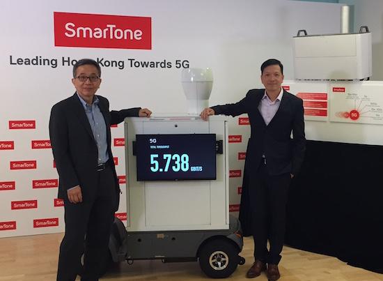 HK 5G test bed