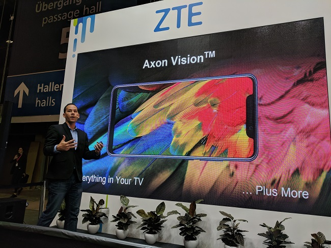 ZTE unveils first smartphone since US woes - Mobile World Live
