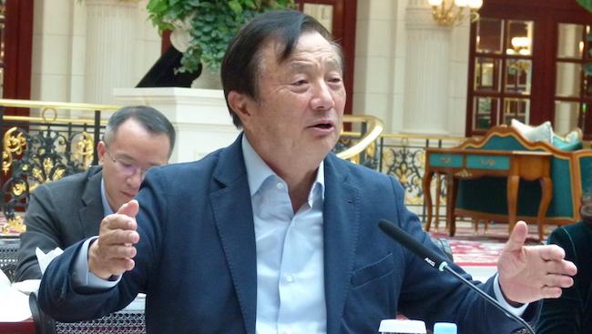 Huawei founder plans overhaul to cut US ties