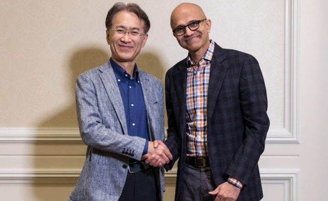 Microsoft, Sony play together on cloud gaming, AI