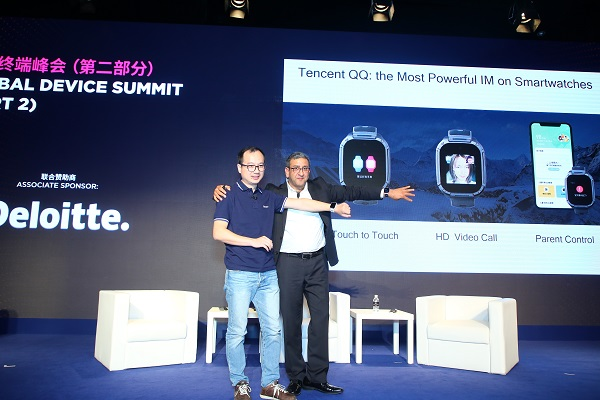 Tencent, Qualcomm optimise QQ for smartwatches