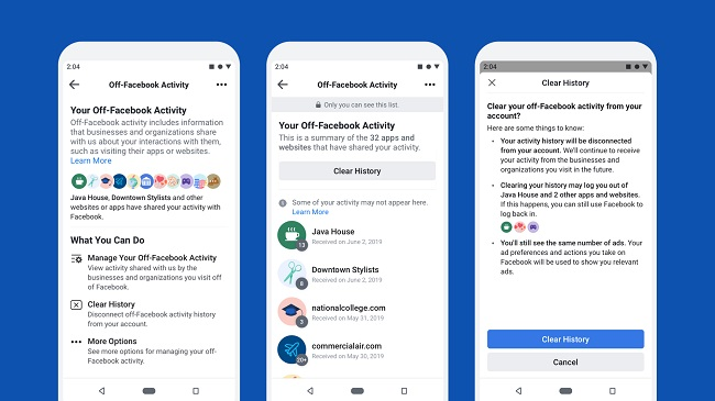 Facebook debuts clear history tool - Mobile World Live