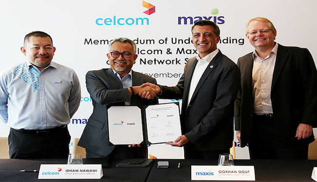 Maxis, Celcom explore sharing 5G assets