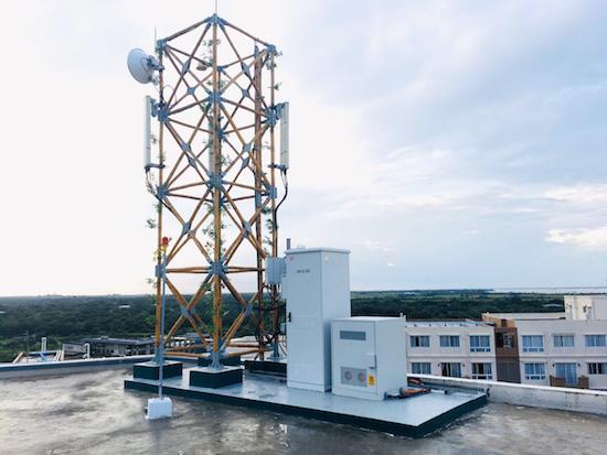 Edotco deploys bamboo tower in Myanmar