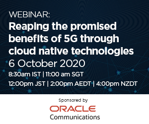Reaping the promised benefits of 5G through cloud native technologies