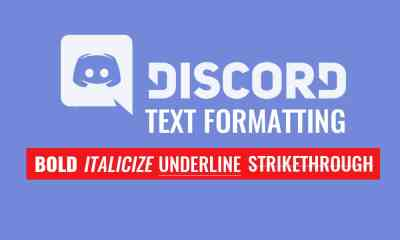 Discord Text Formatting