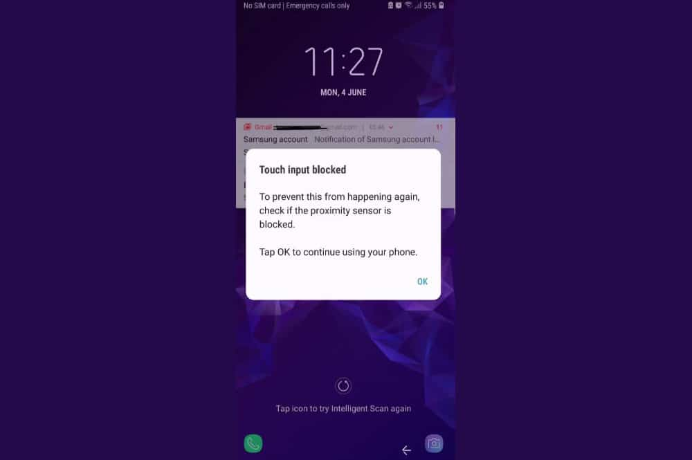 Touch Input Blocked: How to Resolve this Annoy Error for