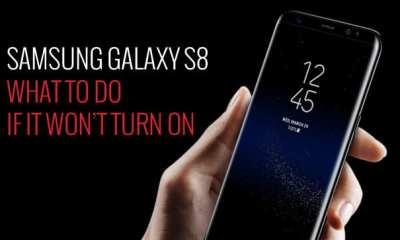 How To Fix Galaxy S8 Won't Turn On